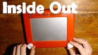 Repeat youtube video Whats Inside an Etch A Sketch ? - Inside Out