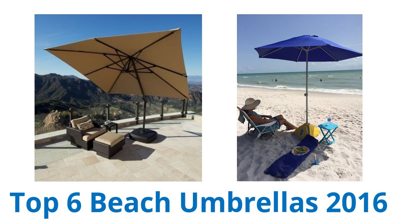6 best beach umbrellas 2016 youtube