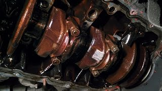 про авто: Замена вкладышей шатунов Honda  ZC, d16