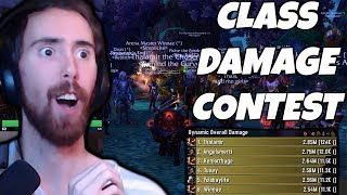 Asmongold Hosts A Class Damage Contest For The First Time!