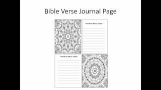 Drop and Drop Coloring Pages and Journal Pages