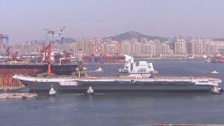 Aufrüstung: China präsentiert ersten eigenen Flugzeugträger