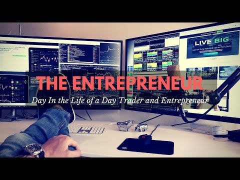 Vlogging a Day in the Life of A Pro Day Trader & Entrepreneu
