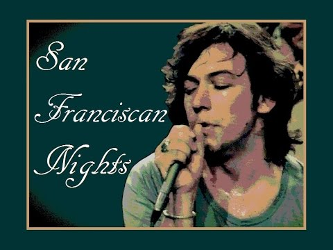 San Franciscan Nights Lyrics ❤ ERIC BURDON ❤ The Animals
