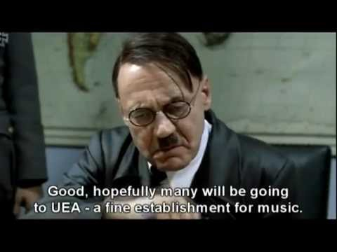 Hitler reacts to UEA Music being closed