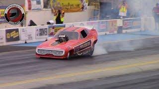 2015 Spokane IHRA Nitro Jam Nationals Part 1: (Nostalgia Nitro Funny Car Qualifying Rd. 1)