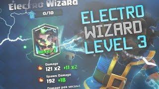 LEGENDARY KOPEN!!! - ELECTRO WIZARD LEVEL 3! - Clash Royale