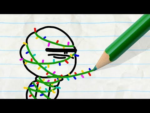 Happy Holidays from Pencilmate! CHRISTMAS COMPILATION - Pencilmation Cartoons for Children