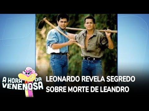 Leonardo revela segredo sobre morte de Leandro