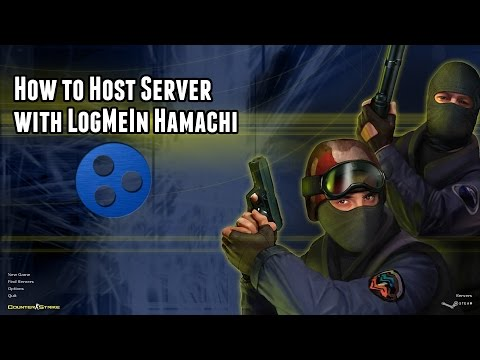 How To Host A Server On Counter Strike 1.6 [Non-Steam] With LogMeIn Hamachi