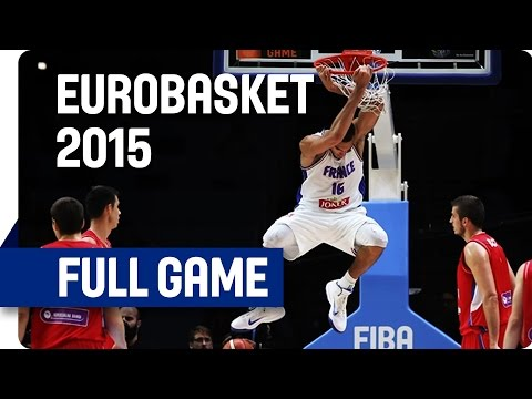 France v Serbia - 3rd Place - Full Game - Eurobasket 2015
