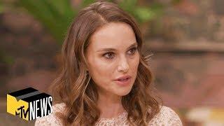 Natalie Portman on 'Vox Lux', Comparing Celeste to Kanye West & More | MTV News thumbnail
