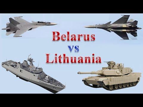Belarus vs Lithuania Military Comparison 2017