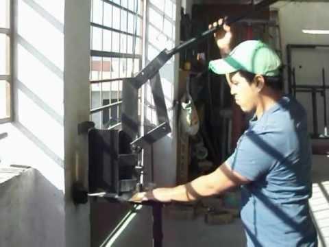 CREAMEX JRJ video de ponchadora para hacer horificios en
