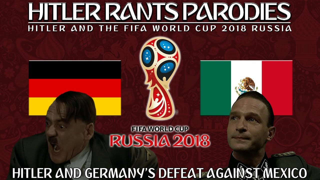 Hitler and Germany's defeat against Mexico in the World Cup