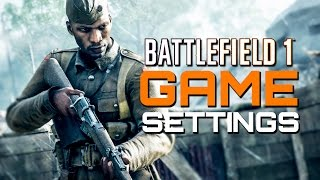 One of TheBrokenMachine's most viewed videos: Battlefield 1: Game Settings Guide - Best Sensitivity? Best FOV?