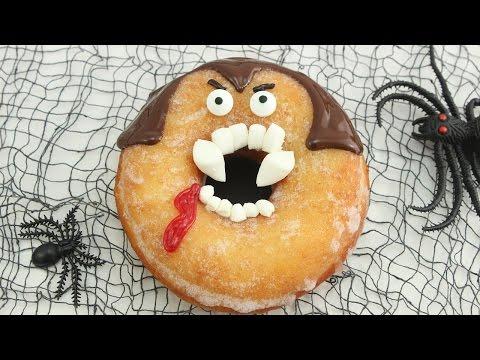 Dracula Donuts / Doughnuts - Halloween Woche #3