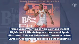 "#throughbackthursday Felipe Lopez ""King of New York"""