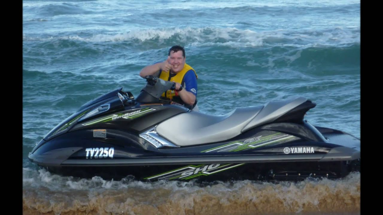 Yamaha fx sho waverunner jetski 2009 first day out for Yamaha jet ski dealer