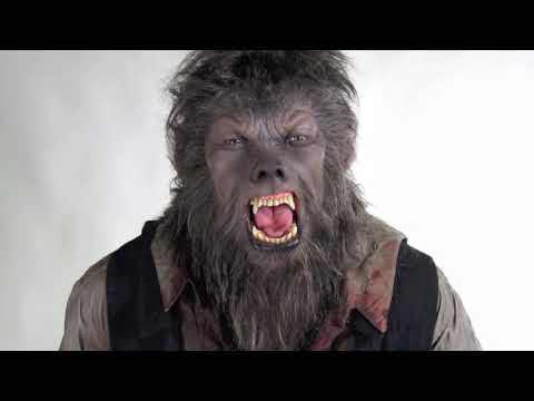& The Wolfman Movie Werewolf Costume Display - YouTube