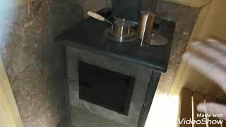 Парная комната с печью ИзестимСочи. Ремонт и отделка своими руками.