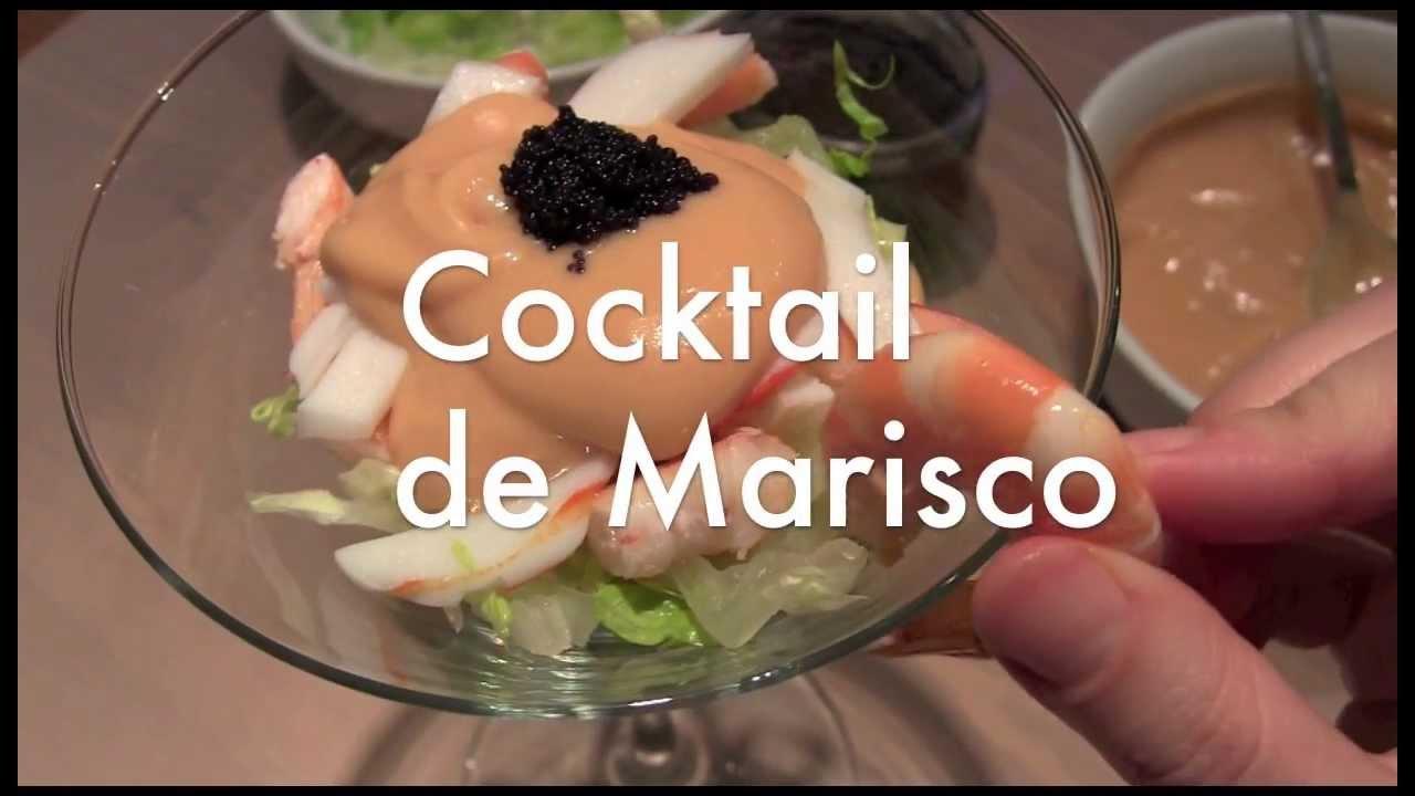 C ctel de marisco aperitivos para navidad youtube - Aperitivos de mariscos ...