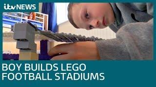 Crawley Boy builds German football stadiums out of Lego | ITV News
