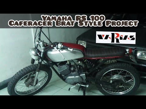 yamaha rs 100 caferacer brat style part 5 youtube. Black Bedroom Furniture Sets. Home Design Ideas