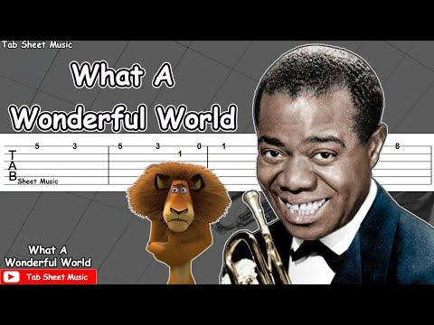 Louis Armstrong - What A Wonderful World Guitar Tutorial
