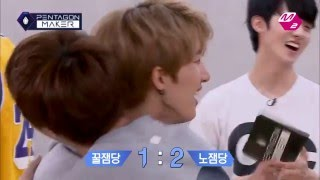 vuclip [M2 PENTAGON MAKER] Touch and You Will Win?! Is This a Battle of PDA? [EP4 Team Round: