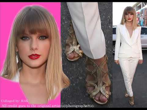 Taylor Swift feet