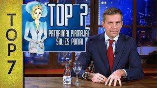 Top7 Patarimai Pirmajai šalies Poniai Dianai  Laikykitės Ten Su Andriumi Tapinu