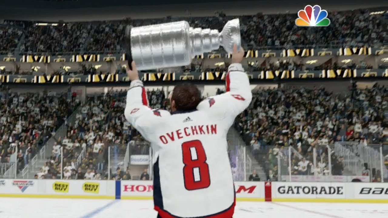 Washington Capitals Are The 2018 Stanley Cup Champions! Alex Ovechkin NHL  MVP Wins Conn Smythe fcc84f836526