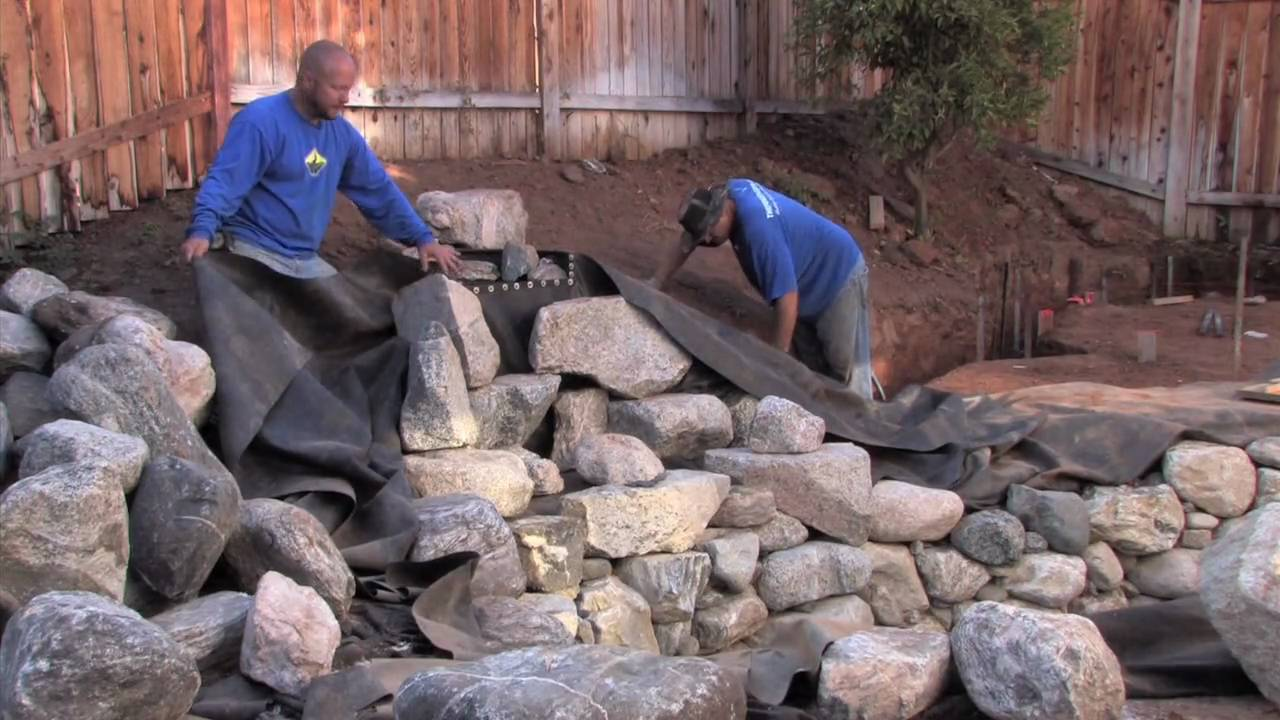 How to Build a Waterfall - Part 1 - YouTube