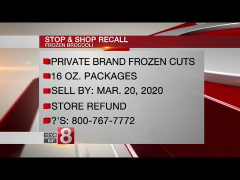 Stop & Shop issues recall for frozen broccoli cuts