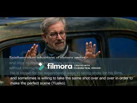 Film Project: Steven Spielberg