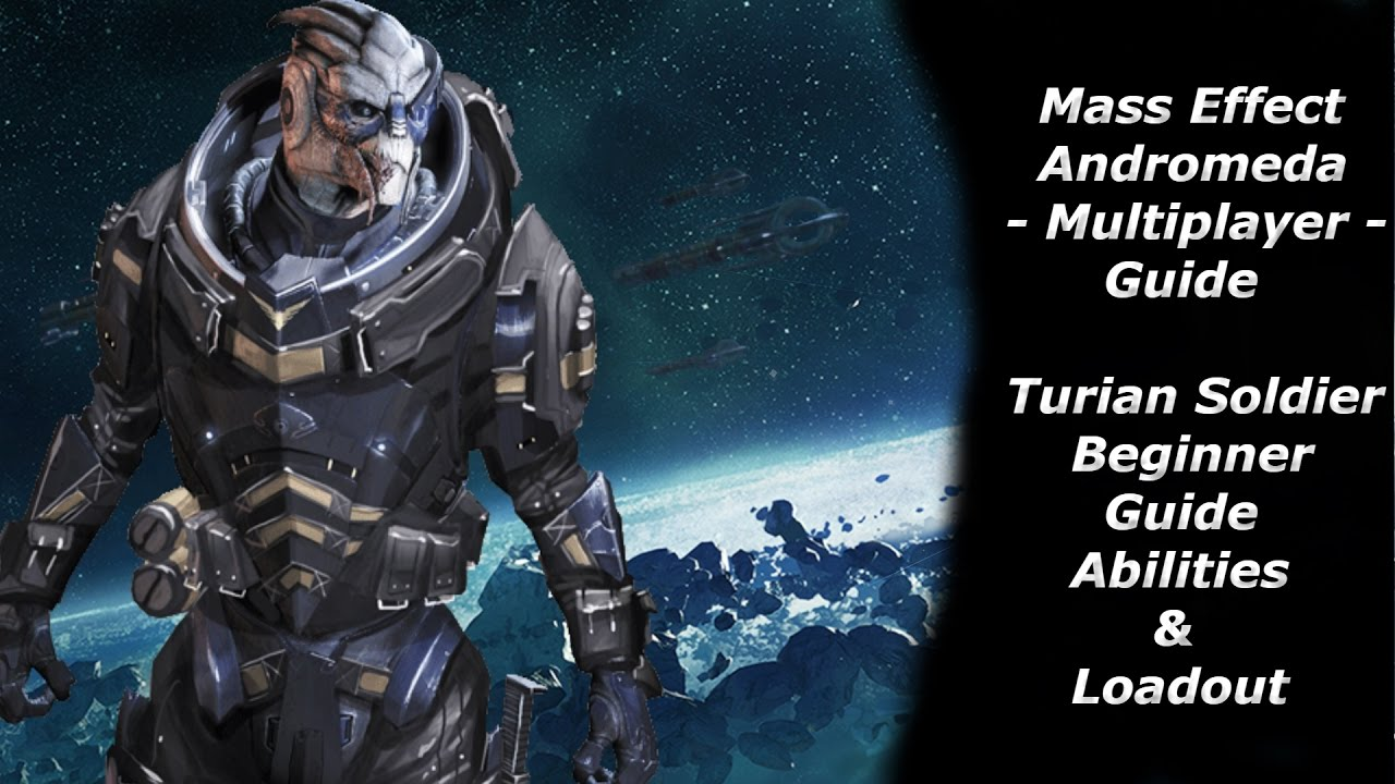 Turian Soldier Build Mass Effect