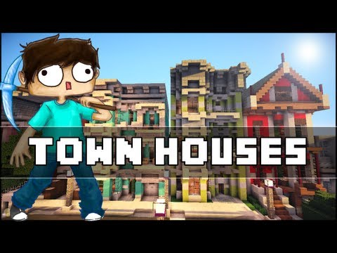 Minecraft - Town Houses