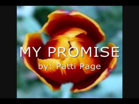 My Promise  Patti Page