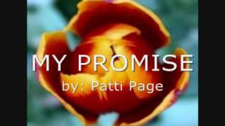 Watch Patti Page My Promise video