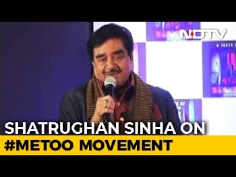 Fortunate That My Name Didn't Come Out In #MeToo: Shatrughan Sinha Mp3