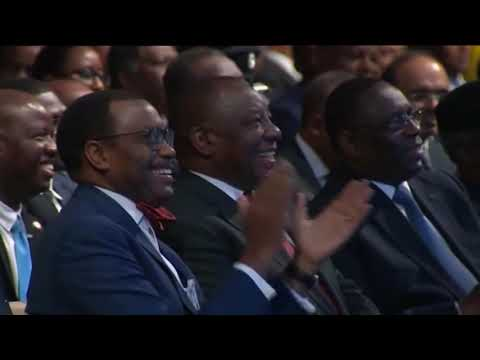 Opening plenary of the inaugural Africa Investment Forum 2018