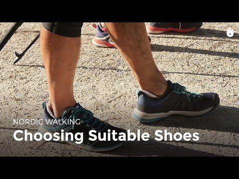 Choosing Suitable Shoes | Nordic Walking