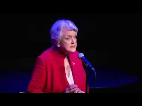 """Angela Lansbury Sings """"Beauty And The Beast"""" Theme At 25th Anniversary Screening"""