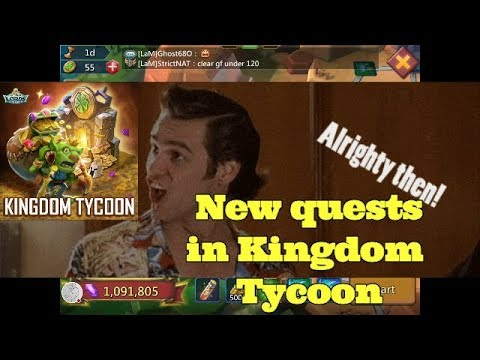 Lords Mobile! New Guildfest Quests. Kingdom Tycoon.