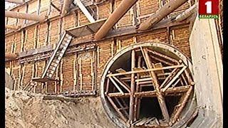 Как идет строительство третьей ветки метро в Минске. Панорама