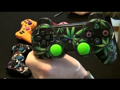 How To Customize Your Ps3 Controller Joysticks Youtube