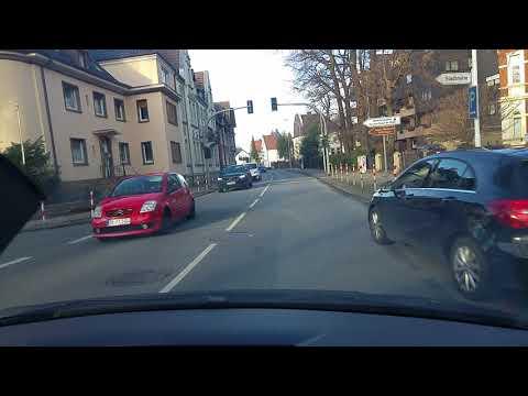 Fahrt von Soest nach Werl in NRW über Ampen-Westönnen (Drive from Soest to Werl)