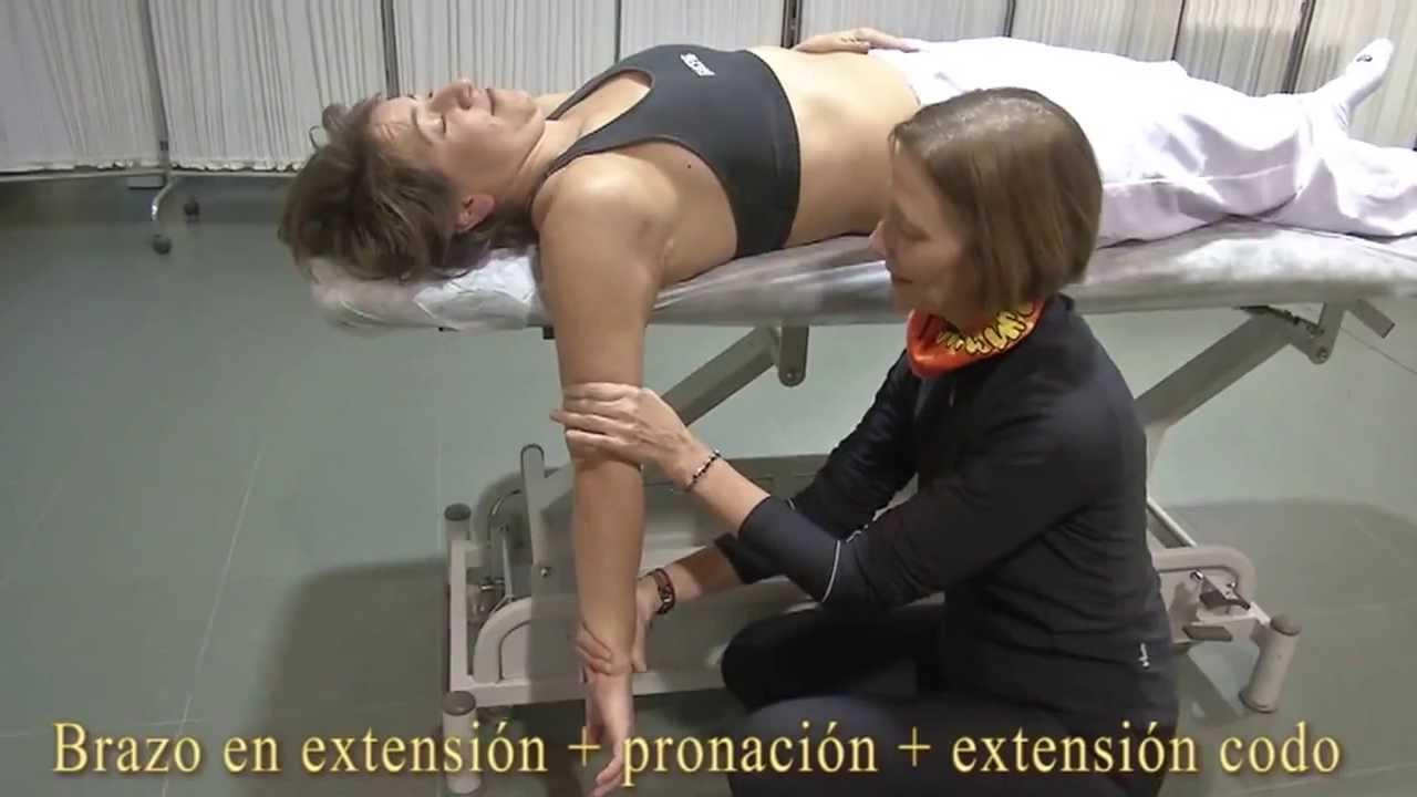 Estiramiento del triceps braquial