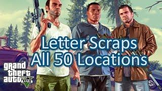 GTA V 支線任務: 全 50 殘缺信件收集地點攻略